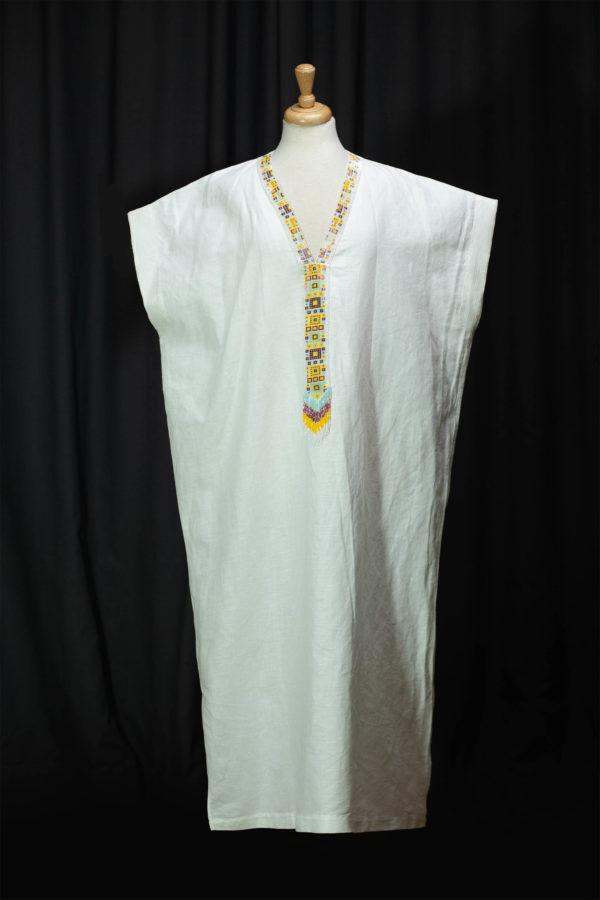Robe luxe robe lin robe Casablanca djellaba lin