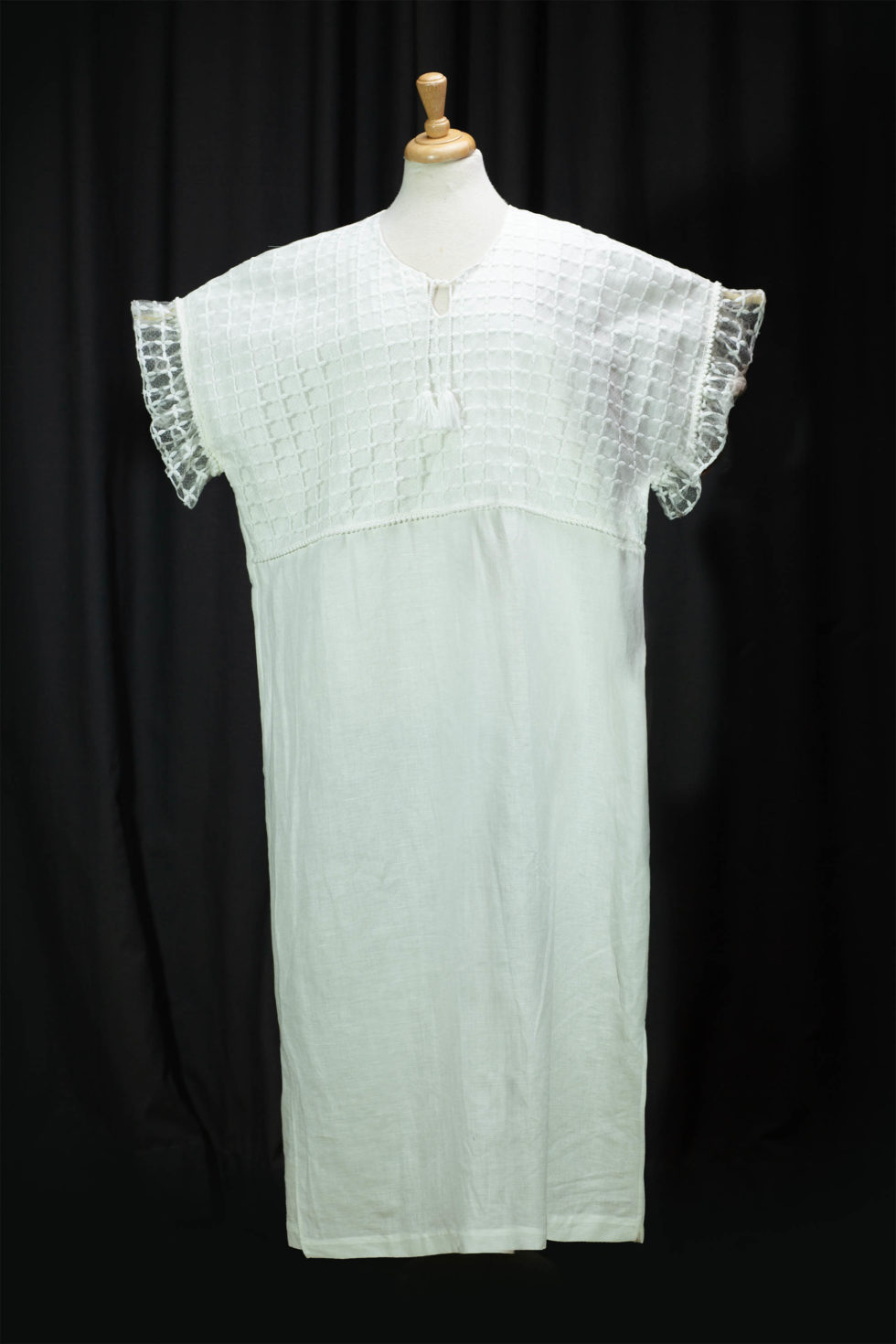 robe lin blanc robe maxi lin